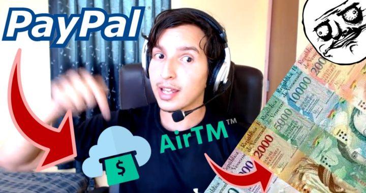 ¿Cambiar Saldo Paypal a Bolivares?