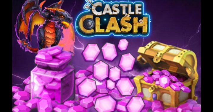 Castle Clash / Castillo Furioso Gemas gratis diarias.