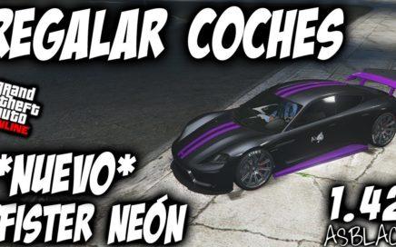 COCHES GRATIS - DUPLICAR y PASAR COCHES AMIGOS - GTA 5 - NUEVO *PFISTER NEON* - 1.5M$ - (PARCHEADO)