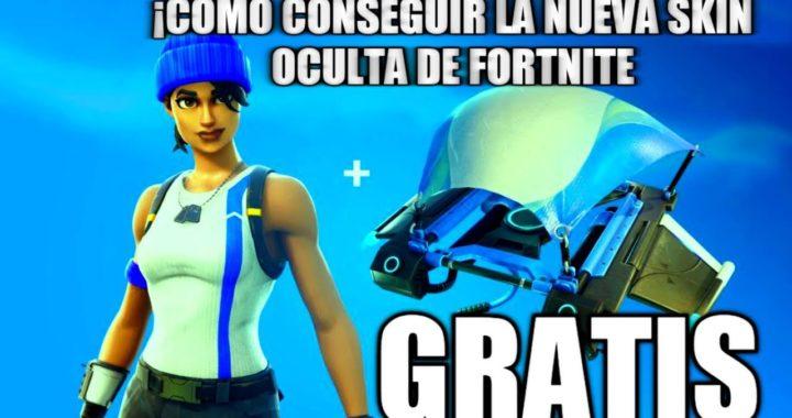 COMO CONSEGUIR LA NUEVA SKIN OCULTA GRATIS DE FORTNITE BATTLE ROYALE NUEVA SKIN GRATIS!!! Fortnite