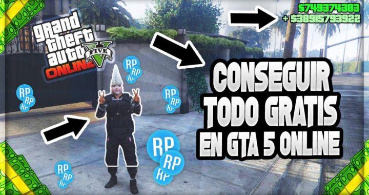 Como conseguir todo gratis en GTA 5 Online
