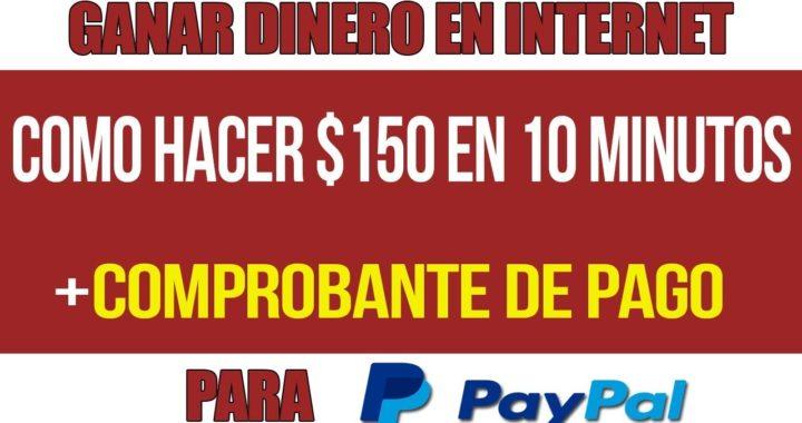 COMO GANAR 150 DOLARES DIARIOS PARA TU PAYPAL + COMPROBANTE DE PAGO| 2018