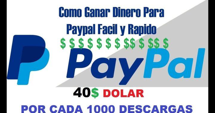 COMO GANAR 40 DOLARES POR COMPARTIR ARCHIVOS ((REAL)) PAYPAL