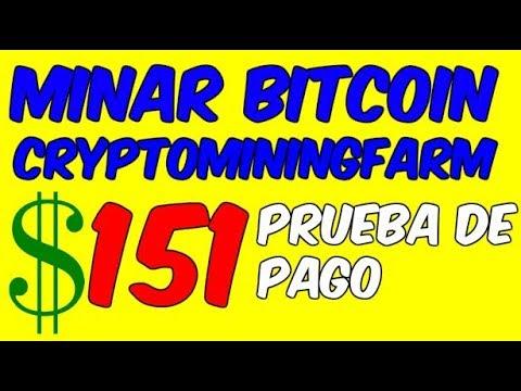 COMO GANAR BITCOIN CON CYPTOMININGFARM Prueba De Pago Mineria En La Nube Para Ganar Dinero