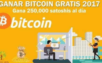 COMO GANAR BITCOIN GRATIS 2018   La Mejor Página Para Conseguir 250,000 Satoshis al Día