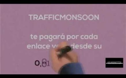 Como ganar dinero desde casa con TrafficMonsoon