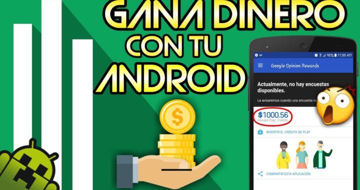Como Ganar Dinero En Android Facil y Rapido - Google Opinion Rewards Muchas Encuestas Metodo 2017