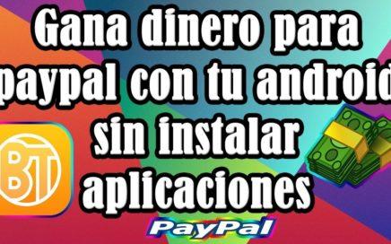 Como ganar dinero en internet - Ganar dinero en android (solo por jugar) -| Dólares PayPal |-