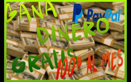 Como Ganar DINERO GRATIS Desde Tu CELULAR 100 Dolares Al Mes |Kevin|