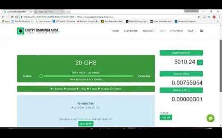 como ganar dinero online con cryptominingfarm 2018