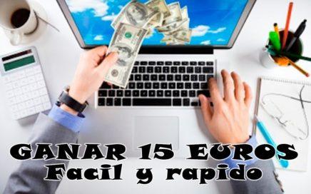 Como Ganar Dinero por Internet 15 Euros  Gratis !! Sin invertir  ( Thenonymo )