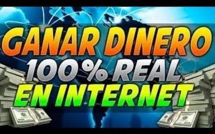 Como ganar dinero por internet  + COMPROBANTE DE PAGOS  NOV/2018 100 % SEGURO