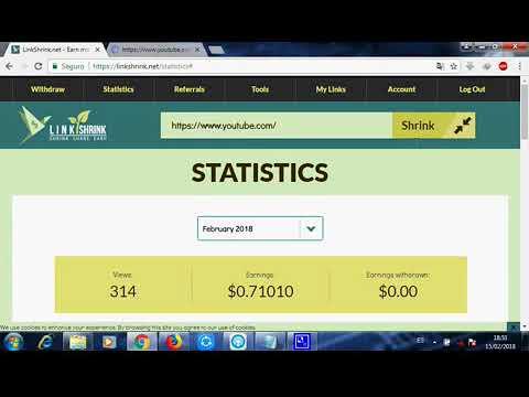 como ganar dinero por internet facil y rapido con linkshrink