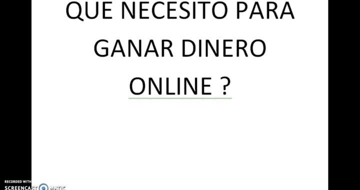 COMO GANAR DINERO POR INTERNET MODULO 1