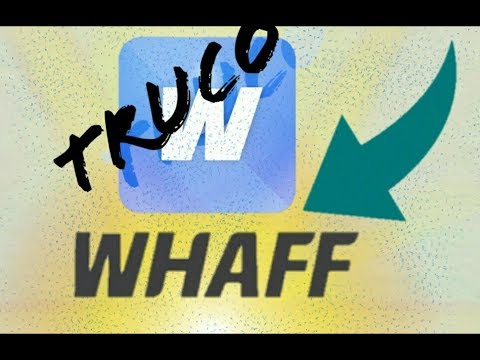 Como hackear whaff rewards (truco) 100% funcional