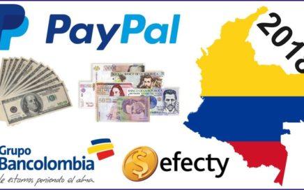 Como Retirar Dinero de paypal en Colombia Sin requisito (2018) Prueba