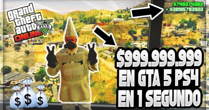 """Conseguir $999.999.999 Por Segundo en PS4 en GTA 5.. (Hack GTA 5 PS4) """"Informacion Importante"""""""