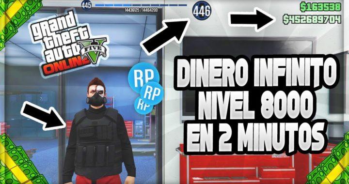 Consigue DINERO INFINITO y NIVEL 8000 en 2 MINUTOS en GTA 5 Online