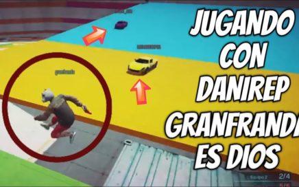 DANIREP GANA LA PARTIDA GRACIAS A MI Y DICE QUE SOY EL DIOS DEL VIDEO Y DICE MI NOMBRE