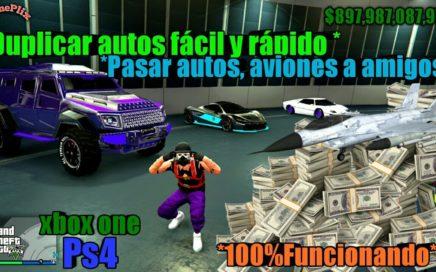 *Duplicar Autos facil Y Rapido* Dinero Infinito 100% Funcionando Gta5 Online xbox One PS4