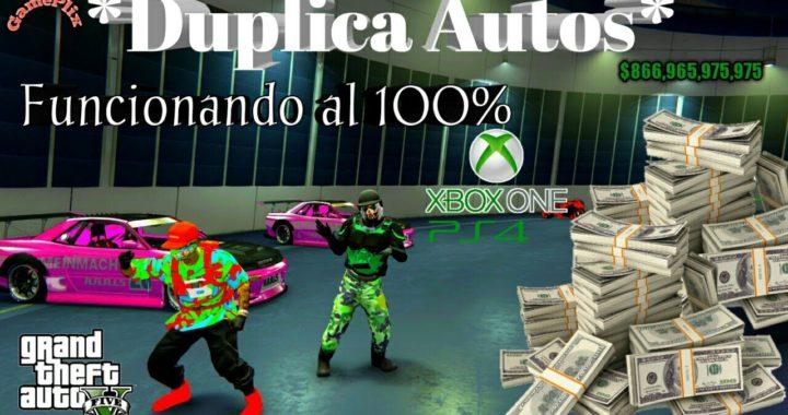* Duplicar Autos* Mega-facil Dinero Infinito 100% Funcionando Gta5 Online xbox One PS4