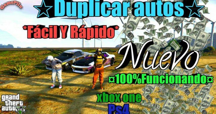 *Duplicar Autos* Pasar autos y  aviones*   Dinero Infinito 100% Funcionando Gta5 Online xbox One PS4