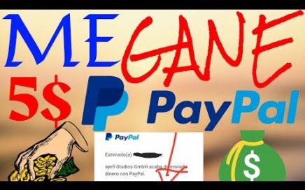 Esta App Me Pago 5$ En Paypal Por Descargar Apps y Jugar a Juegos (COBRANDO EN DIRECTO)