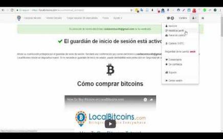 FÁCIL | Como Crear Cuenta y Comprar Bitcoin En LocalBitcoins