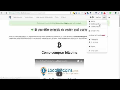 FÁCIL   Como Crear Cuenta y Comprar Bitcoin En LocalBitcoins
