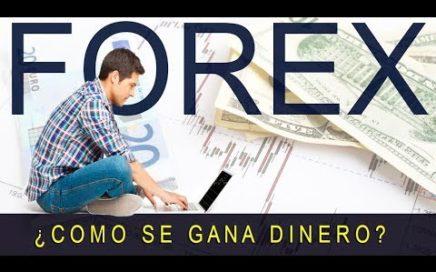 FOREX ¿Cómo se Gana Dinero?