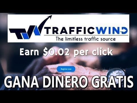 Gana 1$ diarios con Trafficwind