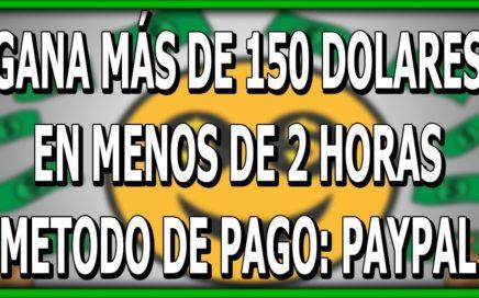 GANA 150$ DOLARES EN MENOS DE 2 HORAS EN VENEZUELA   FÁCIL   PAYPAL   2018