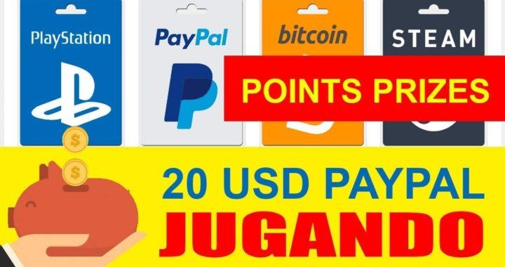 GANA 20$ dolares para PAYPAL con POINTSPRIZES 2017  CUPONES GRATIS