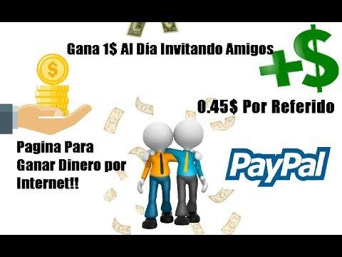Gana 50$ DIARIOS POR INVITAR AMIGOS | 1$ Por Referido | GANA DINERO POR INTERNET