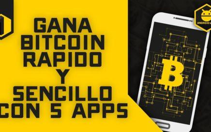 Gana Bitcoin Fácil y Rápido desde Android #1