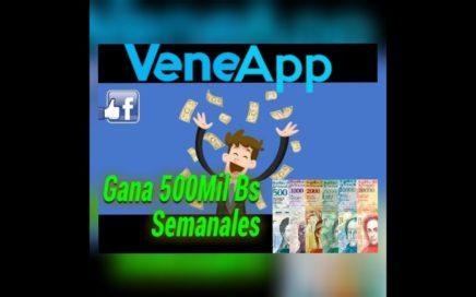 Gana Dinero En Bolívares Con Veneapp | CPM 50mil Bs