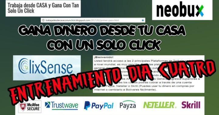 Gana dinero en internet $#  Gana Dinero Desde Casa NEOBUX Y CLIXSENSE Venezuela