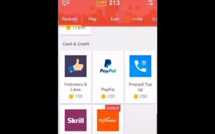 Gana Dinero en Moojoy-Paypal y Diferentes Targetas de Regalo-Actualizado