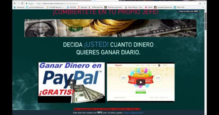 GANA DINERO POR INTERNET, COMPROBANTE DE PAGO. PAGOS DIARIOS TU DECIDES CUANTO GANAR $$