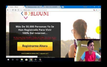 GANA DINERO POR INTERNET// Que es Blouni? como me registro en blouni?