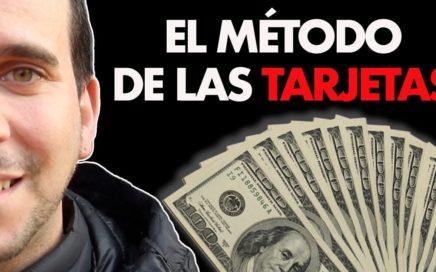 GANA DINERO VIAJANDO CON EL METODO DE LAS TARJETAS