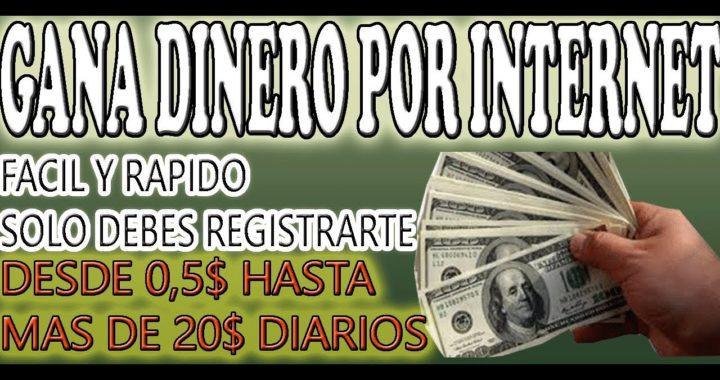 GANA DOLARES POR INTERNET DESDE VENEZUELA, FACIL Y RAPIDO, SOLO POR TIEMPO LIMITADO