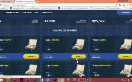 GANA HASTA 50 DOLARES DIARIOS PARA PAYPAL | Abrircaja.com | Dinero Gratis/FreeMoney