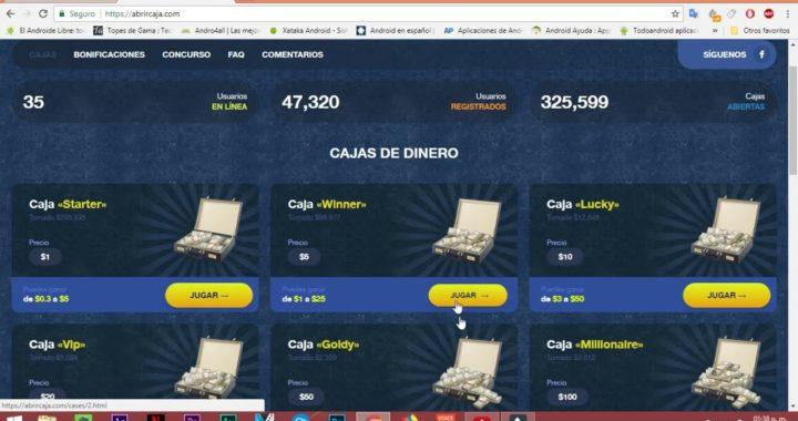 GANA HASTA 50 DOLARES DIARIOS PARA PAYPAL   Abrircaja.com   Dinero Gratis/FreeMoney