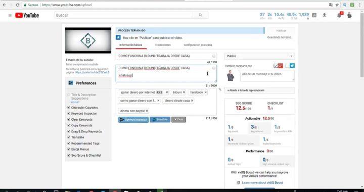 Gana más Dinero con Youtube (Blouni CPA- Lo mejor del 2018)