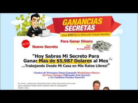 Ganancias Secretas -Ganar dinero desde casa