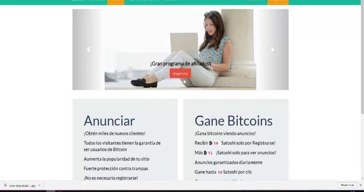 Ganar Bitcoin Viendo Anuncio 2018 Sin Invertir