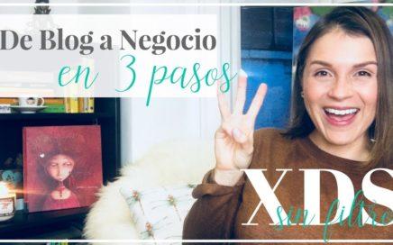 Ganar Dinero con un Blog: De Blog a Negocio en 3 Pasos | XDS Sin Filtro