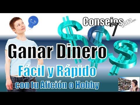 GANAR DINERO FÁCIL Y RÁPIDO CON TU AFICIÓN O HOBBY  7 CONSEJOS, TIPS, RECOMENADACIONES O PASOS