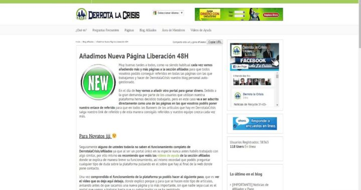 GANAR DINERO ONLINE DLC   Nueva página agregada 1#